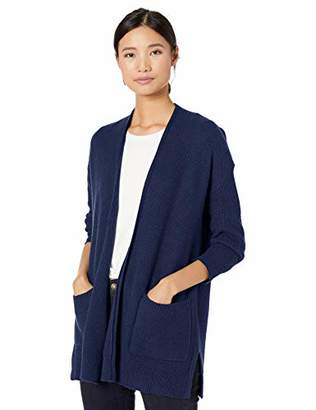 Goodthreads Wool Blend Honeycomb Cocoon Sweater Cardigan,S
