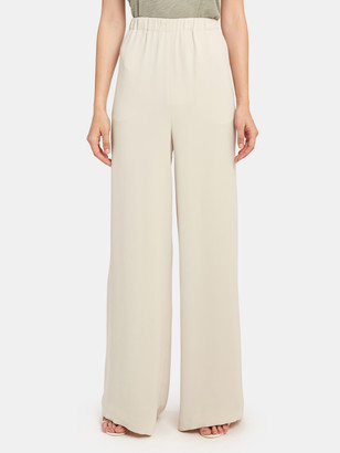 ATM Anthony Thomas Melillo Crepe Wide Leg Pull-On Pant