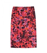 RUTH PRINTED PENCIL SKIRT