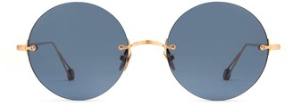 AHLEM Place De La Rotonde Rose Gold Sunglasses