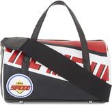 Mo&Co. Racing leather barrel bag
