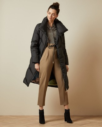 Ted Baker Collared Long Padded Coat