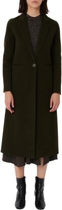 Maje Wool Blend Coat