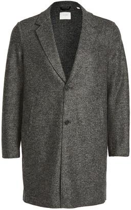 Billy Reid Boiled Wool Topcoat