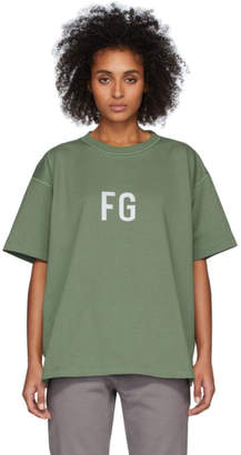Fear Of God Green FG T-Shirt