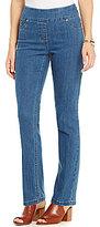 Westbound Petites the PARK AVE fit Slim Leg Pant