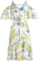 Whistles COLD SHOULDER GARDEN Summer dress multicolor