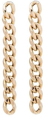 Zoë Chicco 14kt Gold Chain Drop Earrings