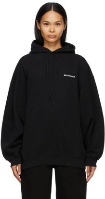 Balenciaga Black Defile Sport Hoodie