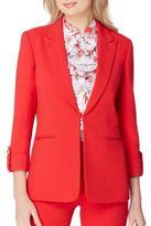 Tahari Arthur S. Levine Traditional Fit Roll Up Jacket