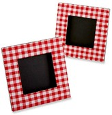 Kate Aspen Red Gingham Print Photo Frame - Red (Set of 12)