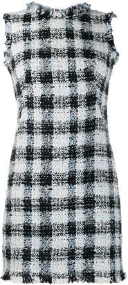 Alexander McQueen bouclé tweed mini dress