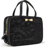 Victoria's Secret Black Lace Travel Case