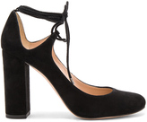 Pura Lopez Laced Ankle Heel