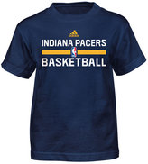 adidas Little Boys' Indiana Pacers Practice Wear Graphic T-Shirt