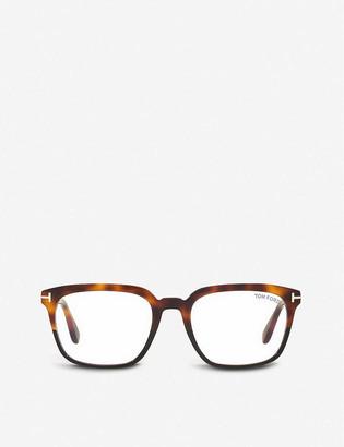 Tom Ford FT5626-B acetate rectangle-frame eyeglasses