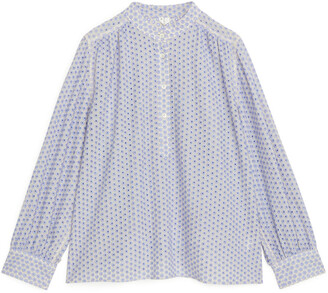 Arket Embroidered Blouse