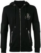 Philipp Plein Indiano hoodie - men - Cotton/Polyester/Polyurethane - L
