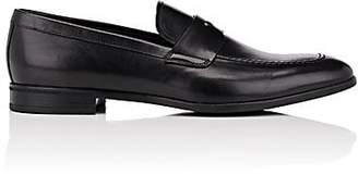 Prada Men's Leather Penny Loafers - Black
