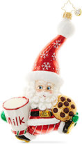 Christopher Radko Snack Time Santa Mid-Year Collectible Ornament