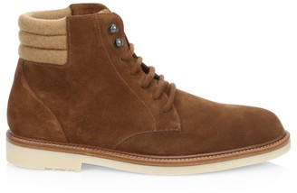 Loro Piana Icer Walk Suede Calf Skin Ankle Boots