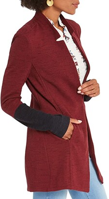 Nic+Zoe Color-Block Me Jacket (Sumac) Women's Clothing