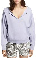 Sanctuary Breslin Split-Neck Sweatshirt