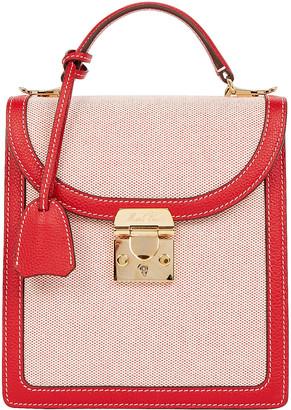 Mark Cross Uptown Canvas Crossbody Bag