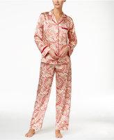 Thalia Sodi Lace-Trimmed Satin Pajama Set, Only at Macy's