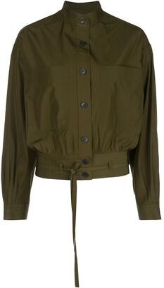 Jason Wu Patch-Pocket Shirt Jacket