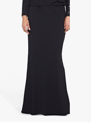 Adrianna Papell Crepe Mermaid Skirt, Black