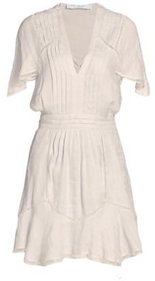 IRO Balco Flounce Hem Dress