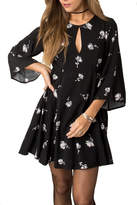 Others Follow Floral Key Hole Dress