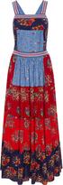Ulla Johnson Lune Patchwork Floral Crossback Dress