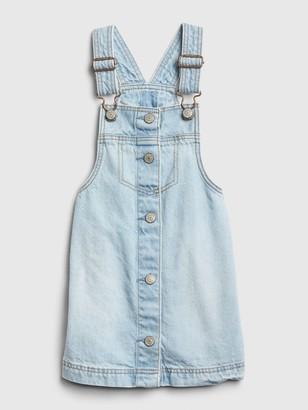 Gap Toddler Denim Button-Front Skirtall