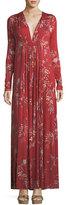 Rachel Pally Long-Sleeve Floral-Print Maxi Dress