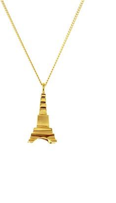 Origami Jewellery Mini Eiffel Tower Gold