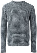 YMC 'Blue Cheer' sweater - men - Acrylic/Polyester/Wool - S