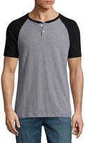 Arizona Short Sleeve Raglan Sleeve Henley Shirt