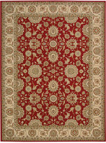 """Nourison Persian King PK02 Red 3'9"""" x 5'9"""" Area Rug"""
