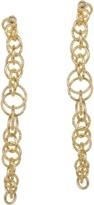 Jardin Vertical Interlocking Italian Inspired Ring Earrings.