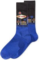 Hot Sox Men's Las Vegas Slacks Socks
