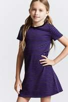 FOREVER 21 girls Girls Stripe Mini Dress (Kids)
