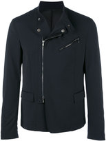 Diesel Black Gold blazer design biker jacket - men - Viscose/Polyester/Wool/Spandex/Elastane - 48