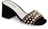 Jeffrey Campbell Women's Parr Embellished Slide Sandal