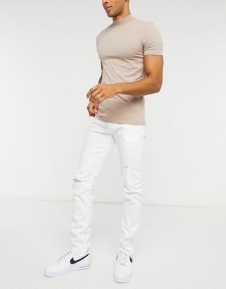 Celio jeans in white