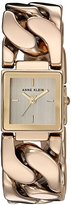Anne Klein Women's Quartz Metal and Alloy Dress Watch, Color:Gold-Toned (Model: AK/2664CHGB)