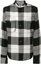 Tom Rebl checked shirt