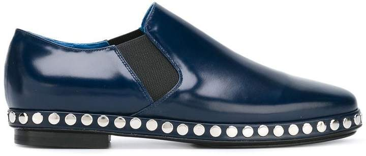 Kenzo studded slip-on shoes