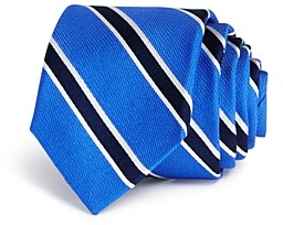 Michael Kors Boys' Striped Silk Tie